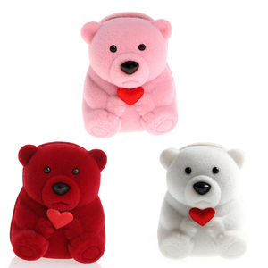 Mini Cute Bear Jewllery Gift B