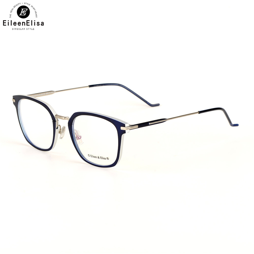 2fe26dcc451 Toptical Eyeglasses Optical Glasses Frame for Men Eyewear Prescription Semi-Rimless  Spectacles Half Rim Eye