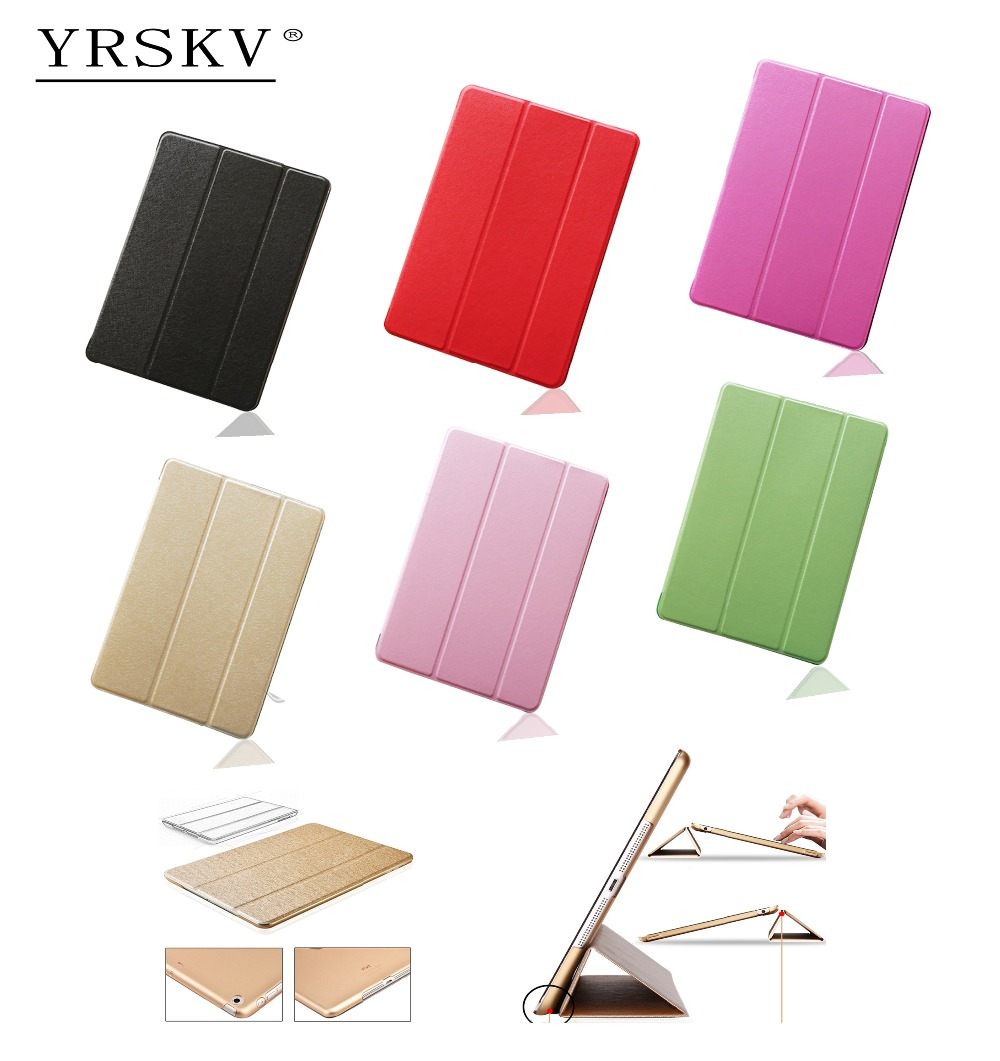 Case for iPad Air (2013) YRSKV Senior silk Smart Cover Ultra Slim Designer Tablet PU Leather Cover Tablet Case For Apple iPad tablet case cover for ipad air 1 szegychx shockproof retina smart case slim designer pu protetive cover for ipad 5