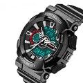 Watch Men Military Sports Watches Fashion Silicone Waterproof LED Digital Watch For Men Clock Digital-watch Relogios Masculinos