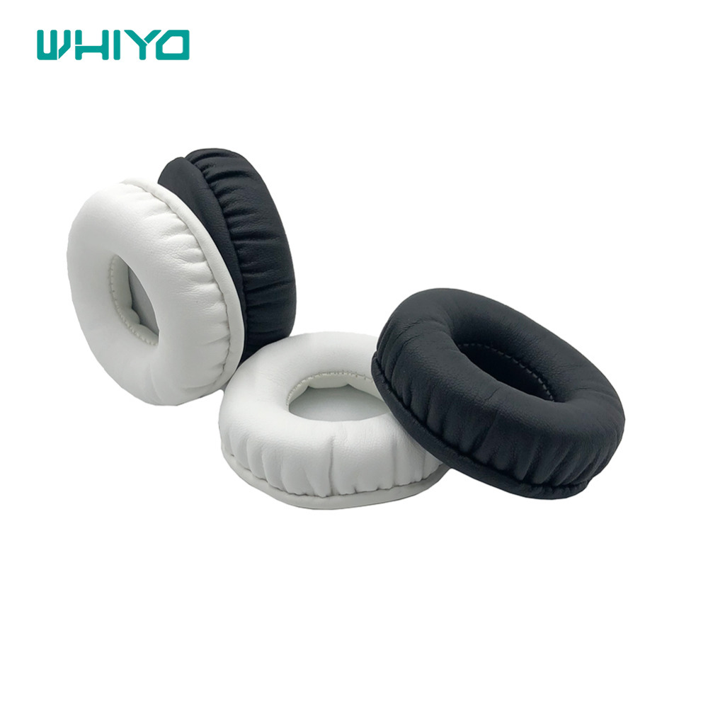 Whiyo 1 pair of Replacement Ear Pads Cushion Cover Earpads Pillow for <font><b>Sony</b></font> <font><b>MDR</b></font>-<font><b>ZX660AP</b></font> Headphones <font><b>MDR</b></font> <font><b>ZX660AP</b></font> ZX660 AP image