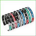 Dial Steel Speedometer Bangle man Bracelet Multi Bracciale unisex Speedometer nuova collezione 2016