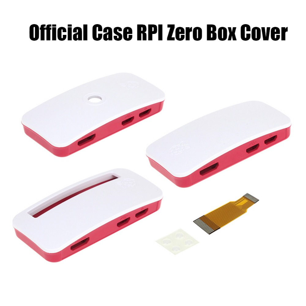 New <font><b>Official</b></font> ABS Shell Enclosure <font><b>Case</b></font> Cover For <font><b>Raspberry</b></font> <font><b>Pi</b></font> <font><b>Zero</b></font> V1.3 and the <font><b>Pi</b></font> <font><b>Zero</b></font> <font><b>W</b></font> image