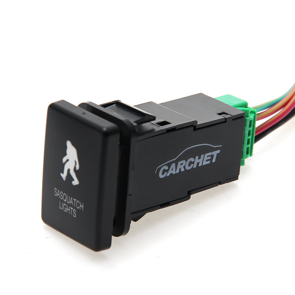 Carchet led push switch connector wire for toyota sasquatch lights carchet led push switch connector wire for toyota sasquatch lights symbol in car switches relays from automobiles motorcycles on aliexpress cheapraybanclubmaster Gallery