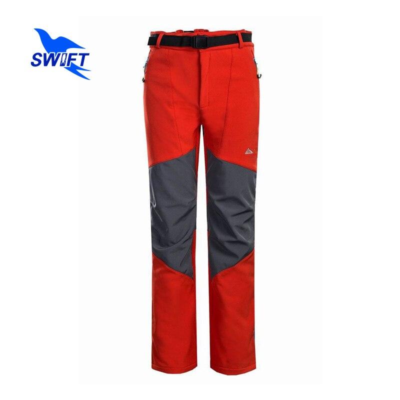 Marque Polaire Tech Softshell pantalons de randonnée Hommes 2019 Imperméable À L'eau En Plein Air Montagne pantalon d'escalade Ski Chasse Pêche Camp Robes