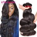 Лучший 8А Перуанской Девы Волос Объемной Волны 3 Bundle Предложения Перуанский волосы Перуанский Объемная Волна Человеческих Волос Пучки Дешевые Тело Волны Волос
