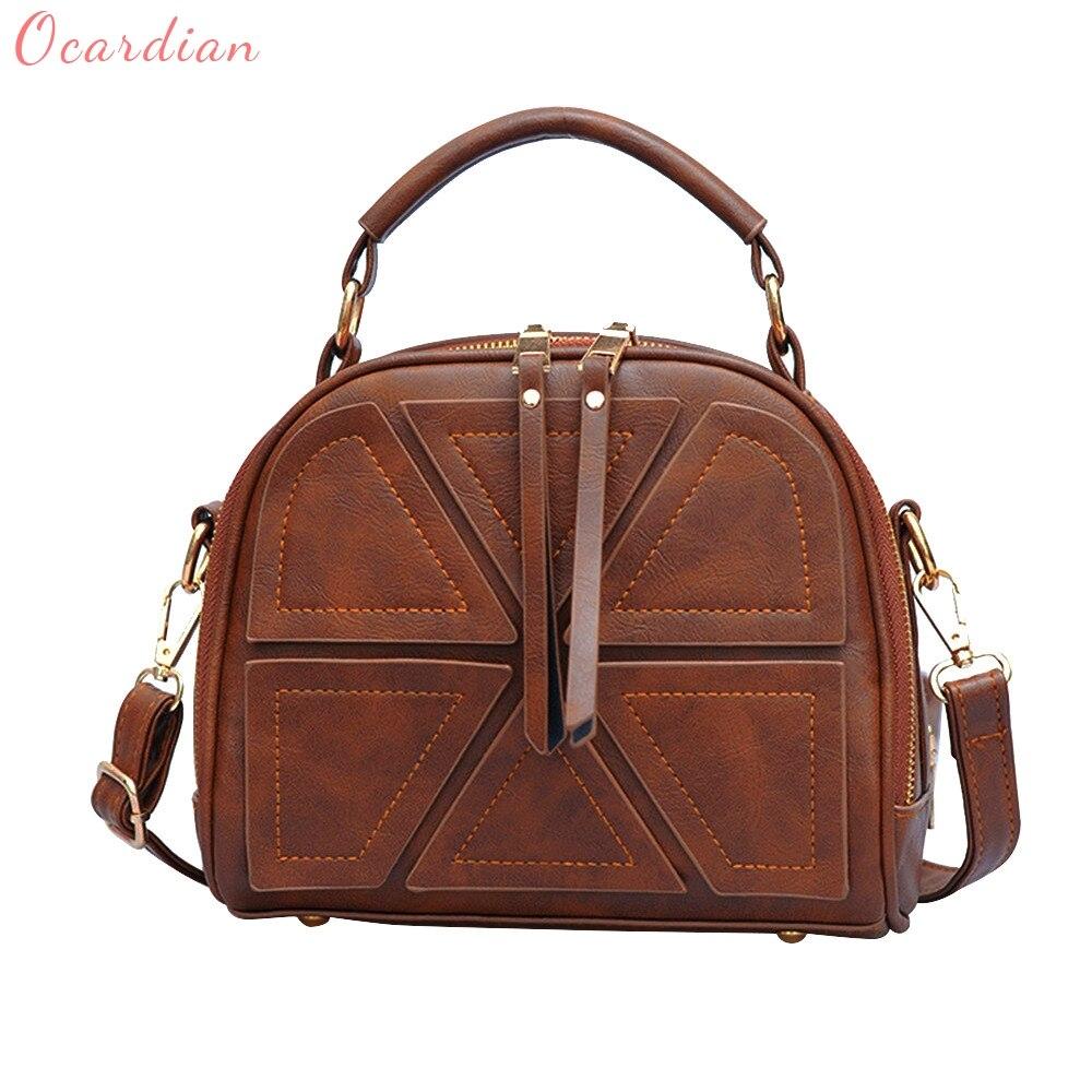 OCARDIAN 2017 Women's Small Messenger Handbags Totes Bags Crossbody Shoulder Bags Fashion Designer Patchwork Bag Dropship 170823