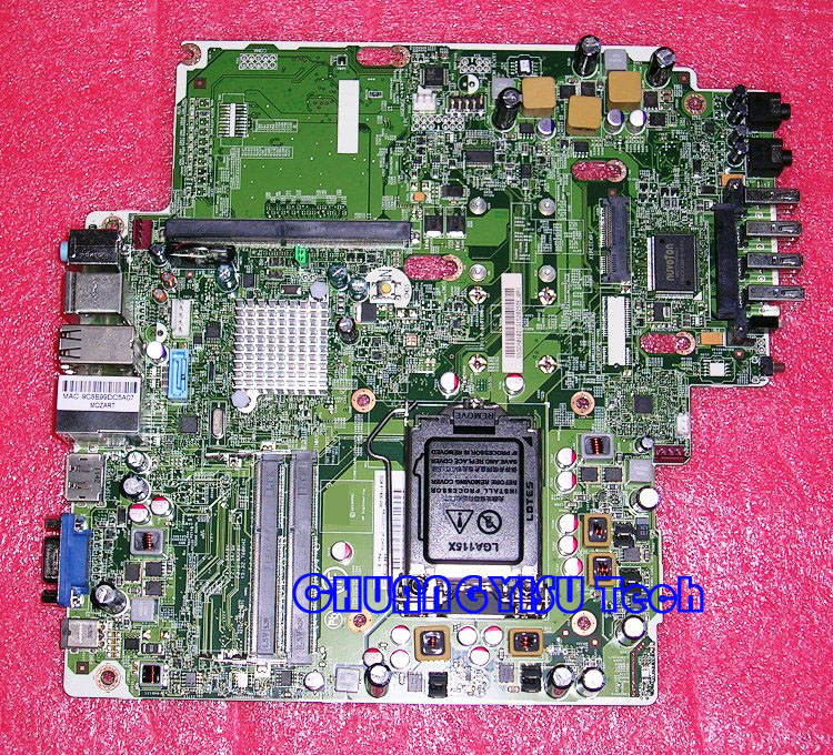 Free shipping CHUANGYISU for original 8200 USDT system motherboard  611836-001 611799-002 chipset Q67,work perfectly