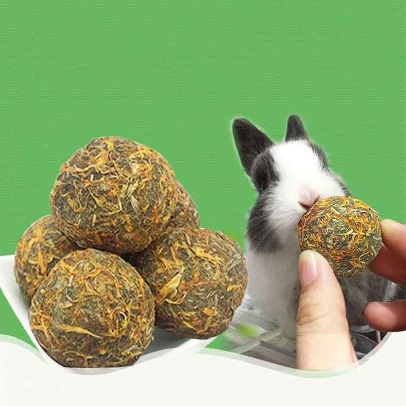 หนูแฮมสเตอร์ Chew กระต่ายหนูกระต่ายดอกไม้กรามของเล่นแร่ธาตุร้อนดอกกุหลาบแท่งสัตว์เลี้ยง Chew เล่นของเล่น
