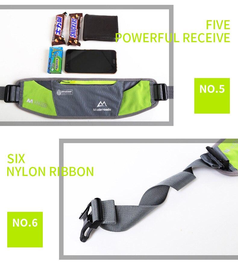 saco de fitness pacote cintura esporte maratona trilha correndo bolsa