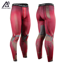 Life on track Compression Cool Dry Sports Tights Pants Baselayer Running Leggings Yoga Rashguard Men