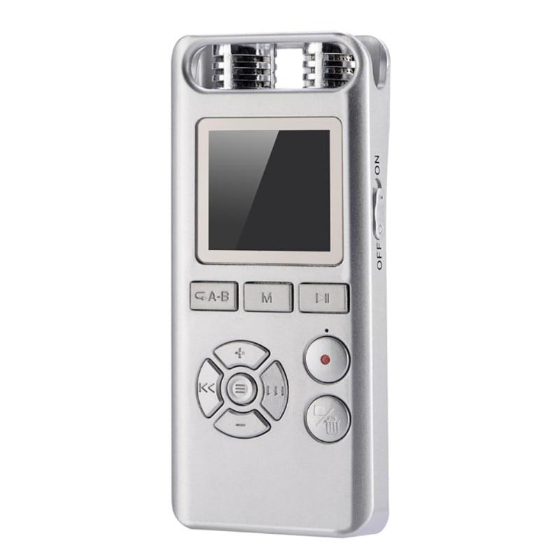 Unterhaltungselektronik Digital Voice Recorder Sonderabschnitt Lanpice Digitale Aufnahme Pen Recorder 8 Gb Mp3 Musik-player Mit Tft Farbe Screen Display Intelligente Lärm Reduktion ZuverläSsige Leistung