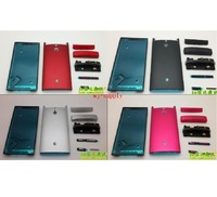 Full Housing Front Frame Chassis + Back Battery Cover Case for Sony Ericsson Xperia P LT22i LT22 + Adhesive + Tools