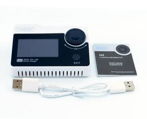 Image 4 - Toolkitrc M8S M8 Batterij Multifunctionele Oplader Ontlader Kleur Scherm 300W 15A 400W 18A Voor 1 8S lipo Lihv Leven Leeuw Nimh Pb