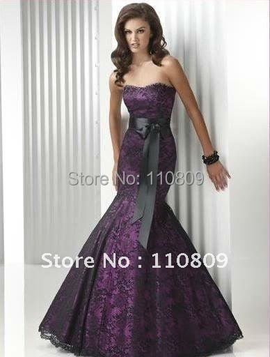 Free Shipping Hot Sale Mermaid Evening Dresses Prom Gown