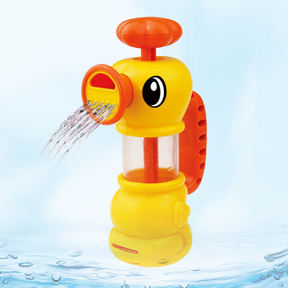 ABS Toy for Kids Water Pistol Spray Pump Duck Swimming Pool Bathtub