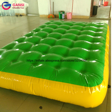 4*2*0.3 Meters Gymnastics air floor inflatable gymnastics air tumbling track, Inflatable Air Mat For Sale wholesale price 4 1m inflatable air track factory air track gymnastics for sale
