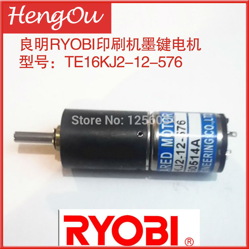 10 pieces free shipping printer parts Roybi motor,TE-16KJ2-12-576,TE16KJ2-12-576,roybi printer parts 10 pieces dhl free shipping roybi ink key motor te16km 24 864 roybi printing machine parts te 16km 24 864