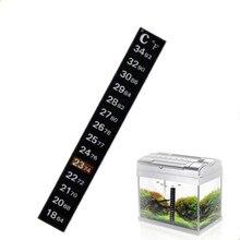 Temperature-Sticker Aquarium-Accessories Stick-On Fish-Tank Digital 1pc Dual-Scale