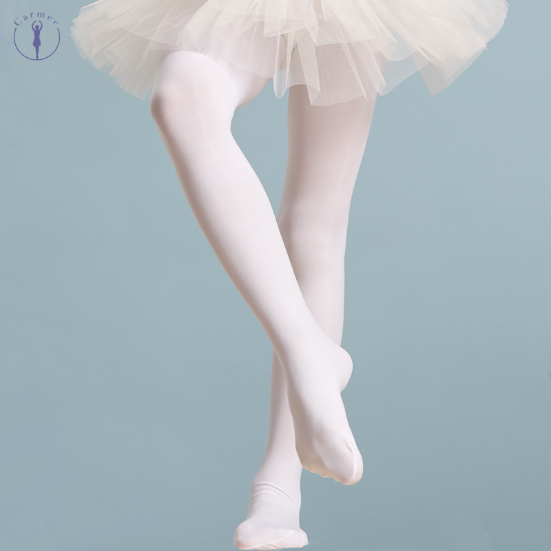 Cotton Ballet Tights Ballet Stockings For Girls Kids Children High Quality Dance Gymnastics Tights Pantyhose