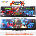 New Pandora box 6 1300 in 1 arcade control kit joystick usb buttons zero delay 2 players HDMI VGA arcade console controller TV