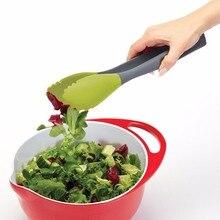 Grillzange w/Silikon Griff Küche Zangen Lock Design Grill Clip Clamp edelstahl Lebensmittel Zange Kochwerkzeug