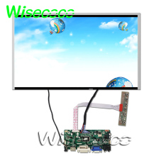 High resolution 17.3 inch 1920×1080 tft lcd screen G173HW01 V0  HDMI VGA DVI controller board M.NT68676.2 цена