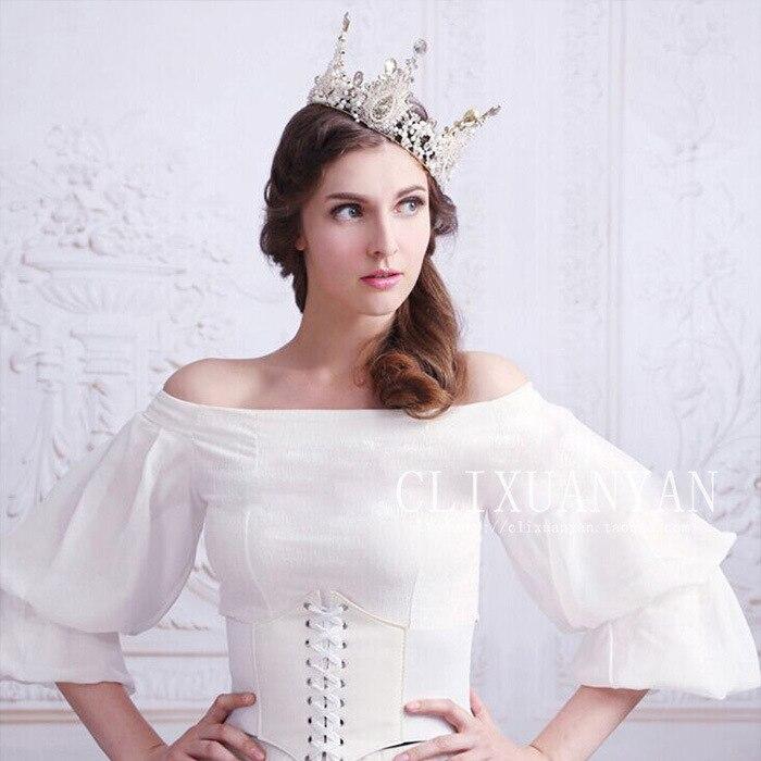 Manik-manik buatan tangan bulat, Eropa besar mahkota bulat, Kaca - Perhiasan fashion - Foto 5