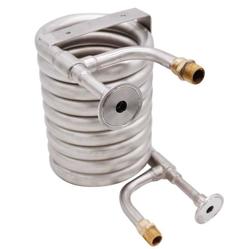 New Stainless Steel Counterflow Wort Chiller Beer Brewing Homebrew Beer & Wine Making Brewing Equipment