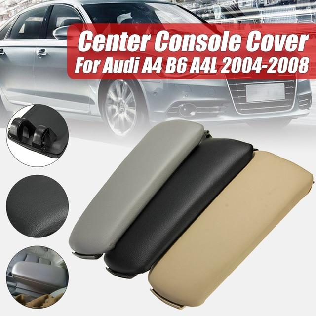 De plástico centro de la consola reposabrazos para Audi A4 2003-2005 B7 2002-2007 4 puerta negro gris BEIGE
