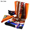 New Fashion Scarfs Pure Silk Scarf Square Women Pashmina Shawls Scarves Tippet Female Kerchief Sunscreen Pashminas