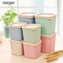 2017 New Arrival Small Plastic Box  Storage Pot Storage Box Kitchen Food Storage Makeup Organizer Box Plastic Food Containers