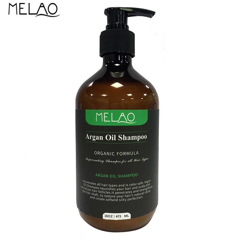 MELAO Nature Agan Oil Shampoo Oil Control Nourishment Nourishment Repair Hair Care Shampoo 473ml