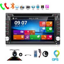 2 din radio car dvd player in Console automotive map gps navigation auto radio cassette player radio steering-wheel multimedia