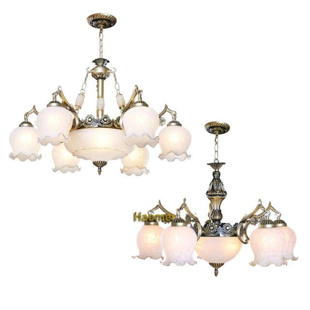 US $215.0 |Mittelmeer lampe pendelleuchte Mode eisen glas hängeleuchte  wohnzimmer lampen rustikale vintage moderne kurze stil lichter in  Mittelmeer ...