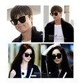 Корейский Бренд V ABSENTE Солнцезащитные Очки мужчины/женщины мода УФ/защита UVB солнцезащитные очки модели звезды Поляризованные линзы, зеркала