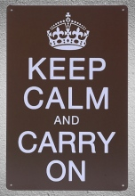 1 piece Keep calm and carry on Tin Plate Sign wall Room man cave Decoration Art Dropshipping Poster metal