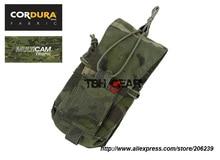 TMC 556 762 MBITR Pouch Multipurpose Military MOLLE Pouches Cordura Multicam Tropic Free shipping SKU12050652
