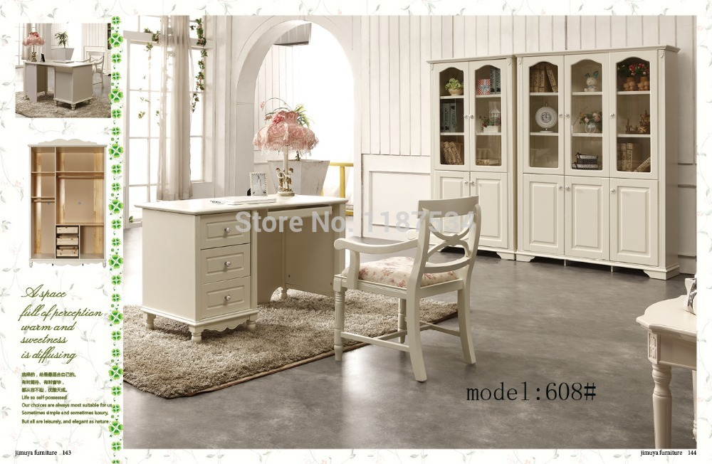 Home furniture study furniture bookcase bookshelf book cabinet desk chair furniture set