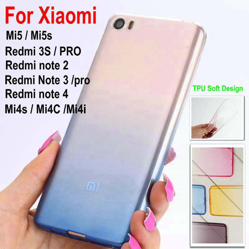 new-ultra-thin-slim-tpu-gel-soft-rainbow-clear-cover-case-for-xiaomi-m5s-mi5s-5s-redmi-note-2-3-3pro