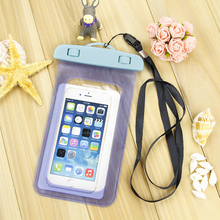 Universal Waterproof Bags Underwater Phone Case For iPhone 6 6s Plus 5S SE/Samsung Galaxy S6 S7 Edge Plus Note 7 free shipping