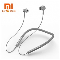 Xiaomi Sport Bluetooth Earphone In Ear Magnetic Mic Play Dual Dynamic Earphones auriculares inalambrico bluetooth on neck