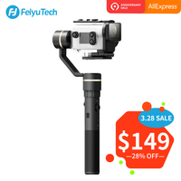 FeiyuTech G5GS Handheld Gimbal Stabilizer for Sony AS50 AS50R X3000 X3000R Camera Splash Proof 130g 200g Payload Feiyu