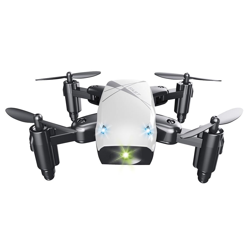 Micro Plegable RC Drone Quadcopter 3D Rollover Volando Juguetes de Control Remoto Helicóptero Drone WiFi APP Control Dron Regalos para Los Niños