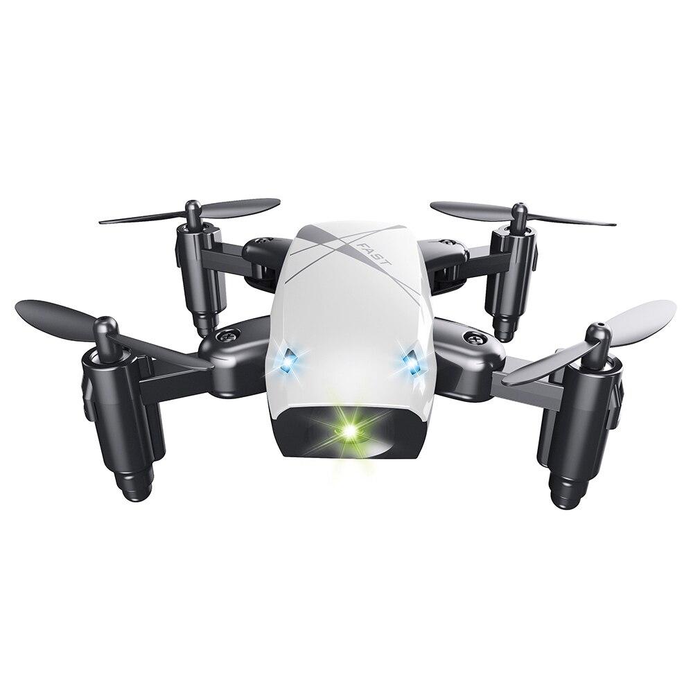Micro Pliable RC Drone 3D Roulement Volant Télécommande Quadcopter Jouets Avec Caméra WiFi APP Contrôle Hélicoptère Dron Enfants Cadeau