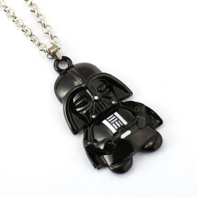 Star Wars Necklace Blade Warrior Darth Vader Pendant Necklace Friendship Men Women Moive Jewelry Choker Accessories
