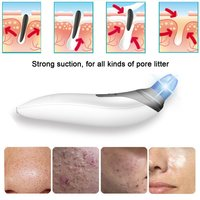 Professional Skin Care Beauty Electronic Facial Pore Cleaner Nose Blackhead Cleansing Acne Remover Comedo Suction Tools New