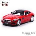Maisto Mercedes-Benz AMG GT 1:18 Сплава Модель Автомобиля Игрушки Diecasts и Toy Транспорт Коллекция Детские Игрушки Подарок
