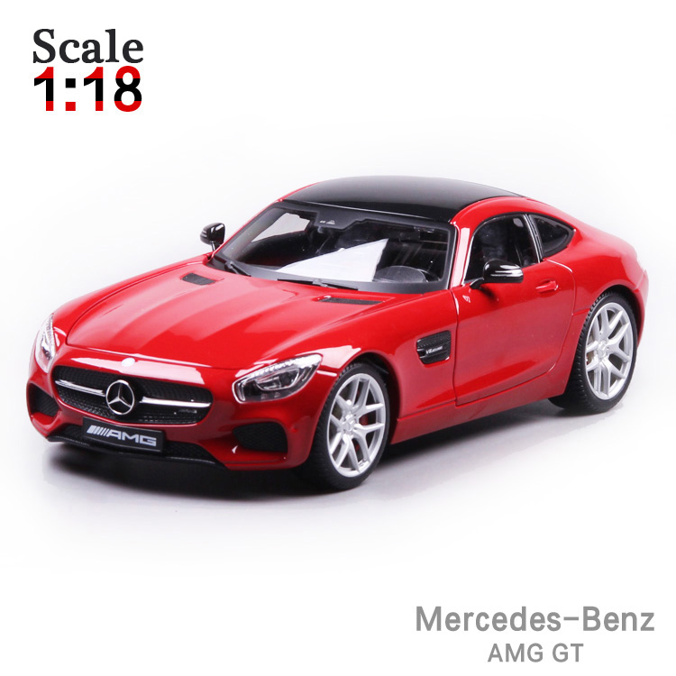 ФОТО Maisto Mercedes-Benz AMG GT 1:18 Alloy Car Model Toys Diecasts & Toy Vehicles Collection Kids Toys Gift