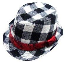 2016 moda Jazz Toddler Kids Baby Boy Girl Cap fotografía fresca Fedora  sombrero para los niños f9123a17a6a